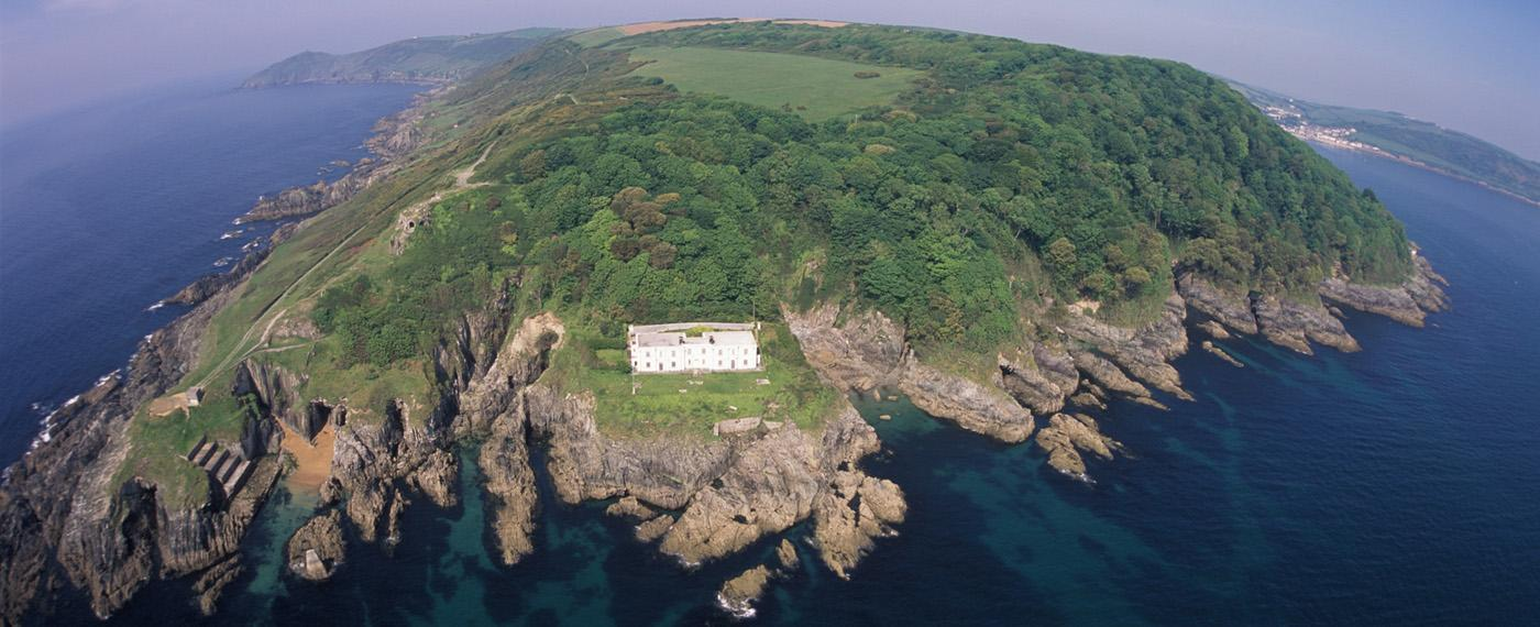 The Old Signal House - aerial shot